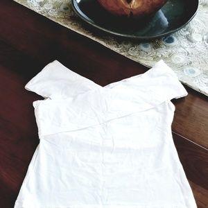 NWOT cream colored crop top,  H&M in size medium